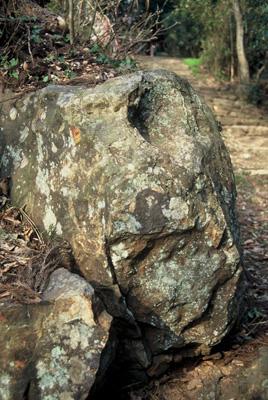 膝かぶ石゛